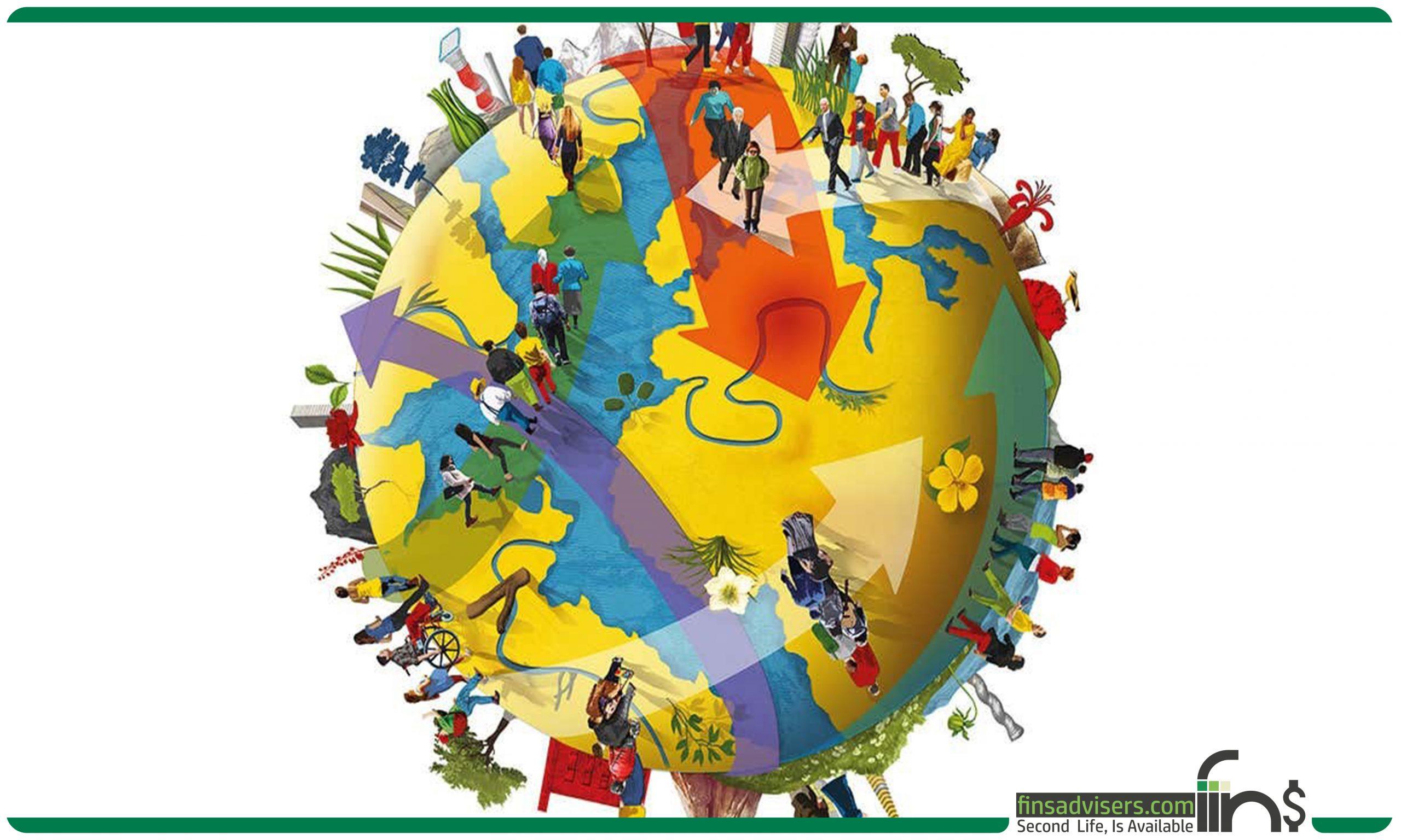 تعداد مهاجران در دنیا