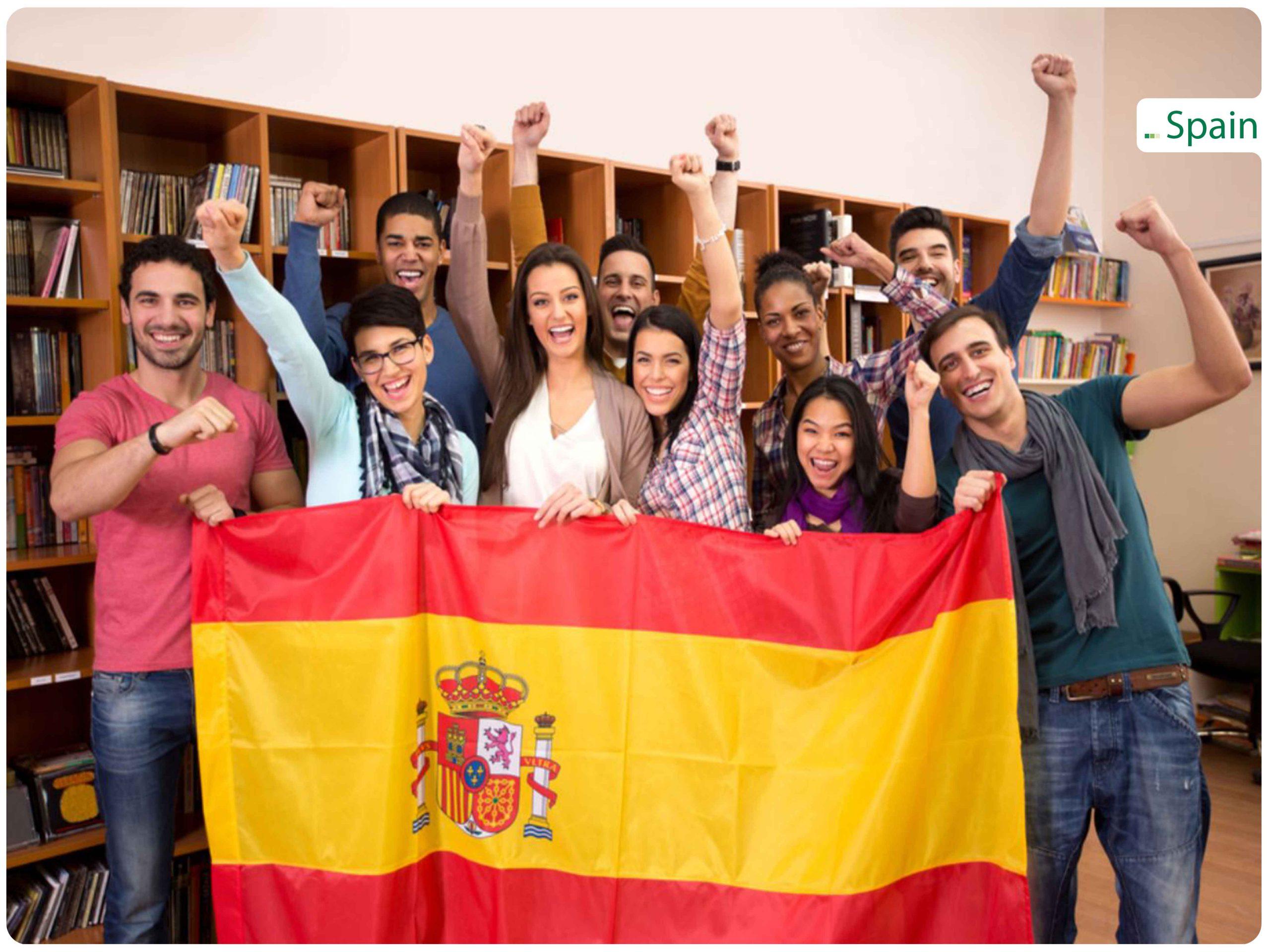 دوره زبان در اسپانیا