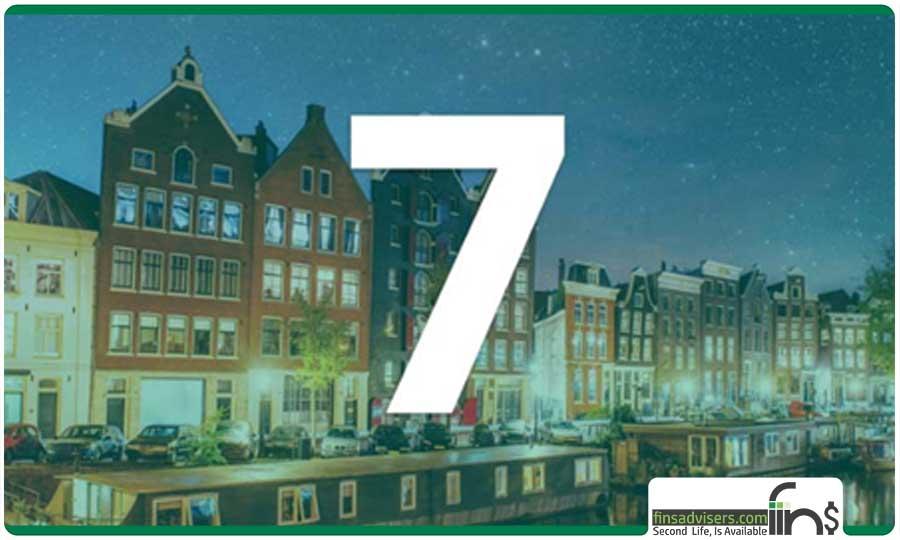 رتبه هفتم: کشور هلند