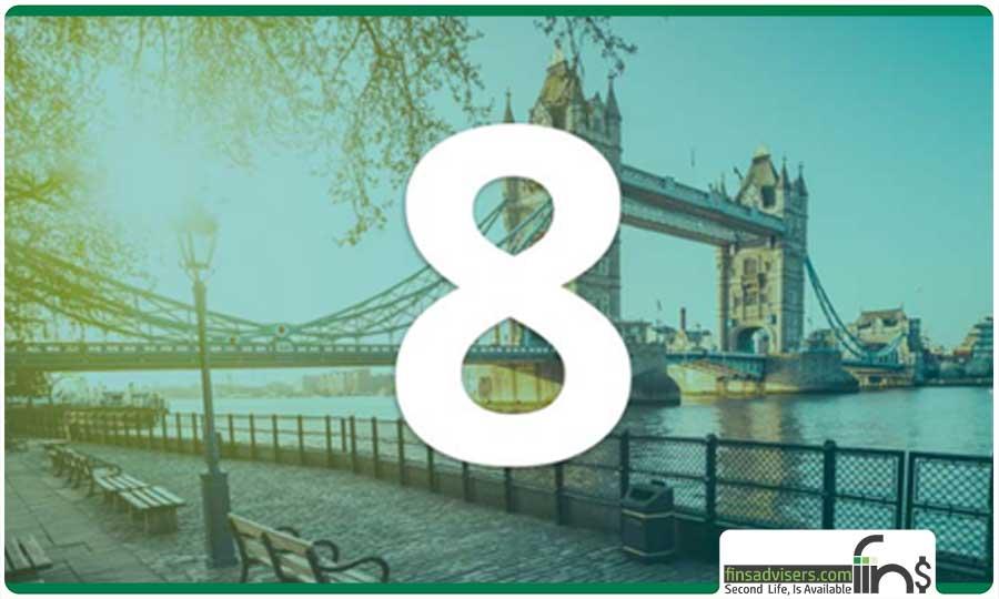 رتبه هشتم: بریتانیا