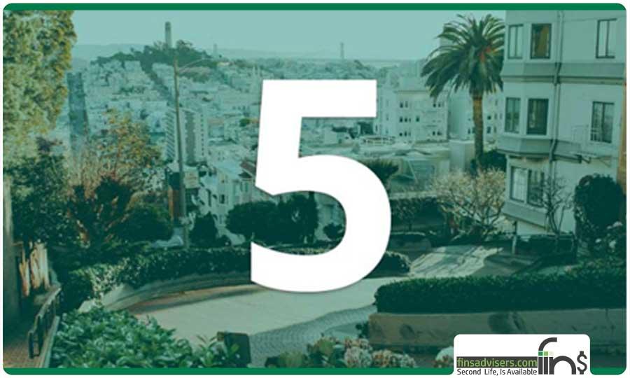 رتبه پنجم: ایالات متحده آمریکا