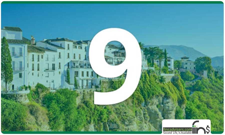 رتبه نهم: کشور اسپانیا