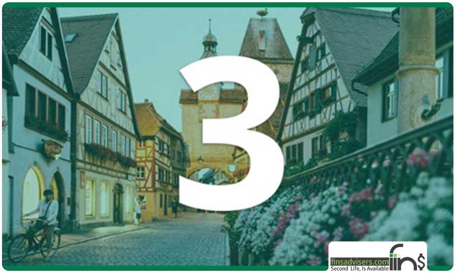 رتبه سوم: کشور آلمان