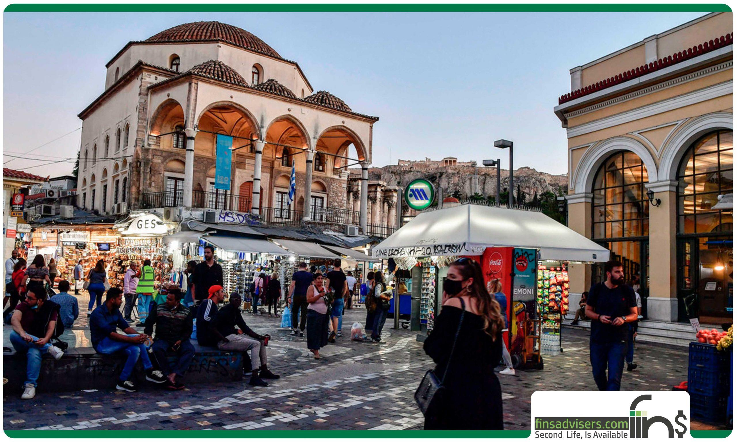 ویزای تمکن مالی یونان