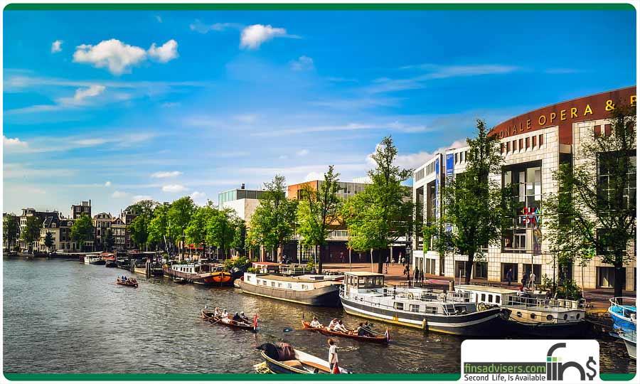 قایق رانی در هلند