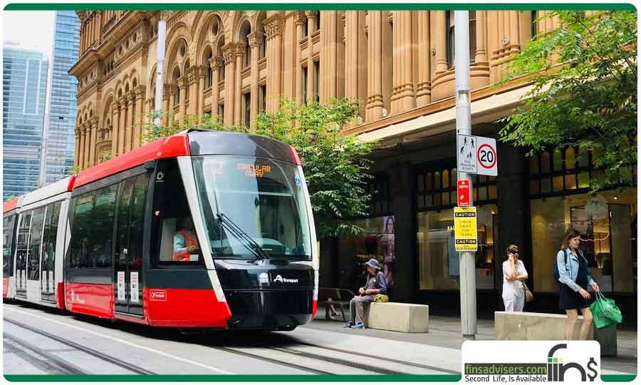 حمل و نقل عمومی در استرالیا