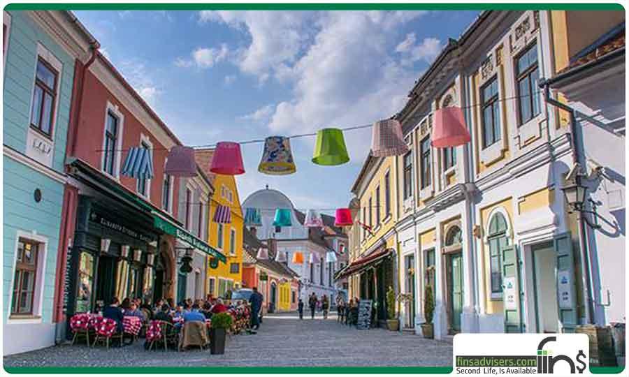 شهر زنتندر مجارستان